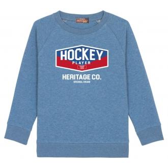 Sweat Heritage Mid Heater Blue