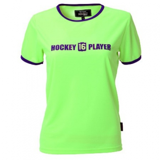 Warming T-Shirt Women Green/Purple
