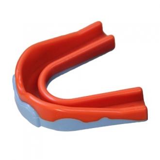 Mouthguard Hockey Player Sky/Orange