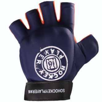 HP Gloves Elite Pro Left Navy/Orange