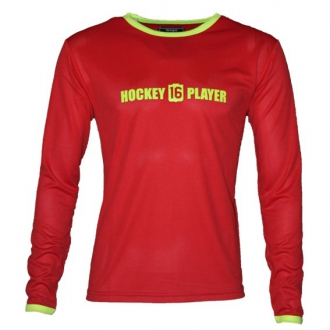 Warming T-Shirt longues manches Red/Yellow