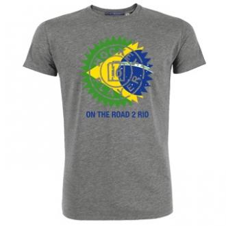 T-Shirt HP Flag Circle Brazil