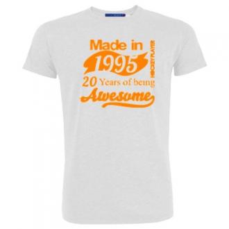 T-Shirt HP 20 Years Orange