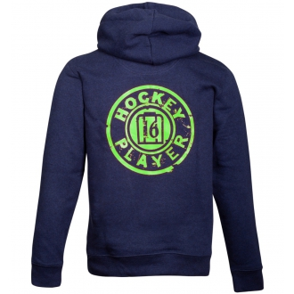 Sweat Toledo full zipper Unisex Navy/Green