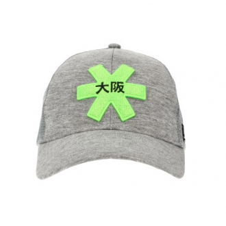 Headwear Osaka Trucker Cap Grey/Green