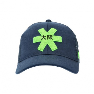 Headwear Osaka Trucker Cap Navy/Green