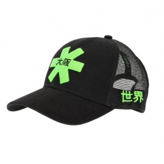 Headwear Osaka Trucker Cap Black