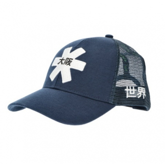 Headwear Osaka Trucker Cap Navy/White