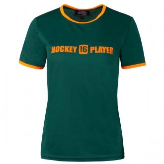 Warming T-Shirt Women Green/Orange