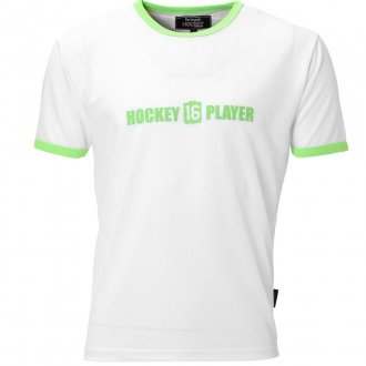 Warming T-Shirt Men White/Green