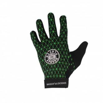 HP Winter Gloves Pro Black/Green
